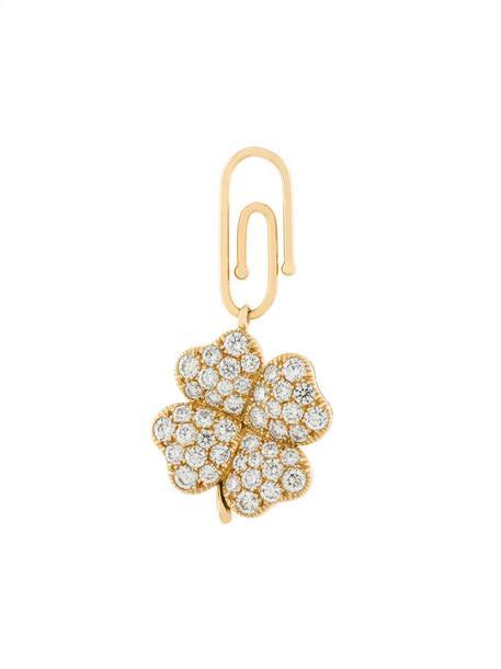 AURELIE BIDERMANN women pendant gold grey metallic jewels