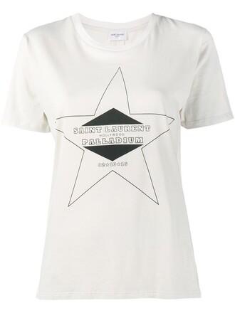 t-shirt shirt print nude top