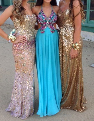 dress blue prom sparkle long long dress butterfly prom dress