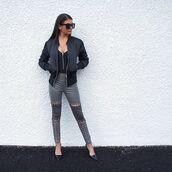 coat,maniére de voir,bomber jacket,jacket,black,kylie jenner,trendy,fashion,style,kim kardashian