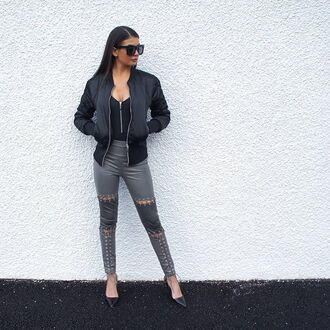 coat maniére de voir bomber jacket jacket black kylie jenner trendy fashion style kim kardashian