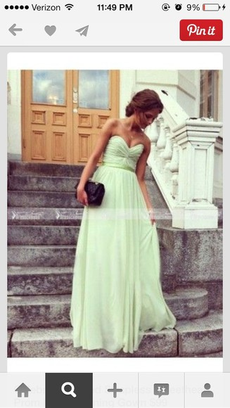 dress prom dress mint green dress prom dresses long prom dresses sweetheart dresses simple prom dress 2014 prom dresses