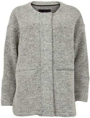 Designers Remix Bree square cut wool jacket - Polyvore