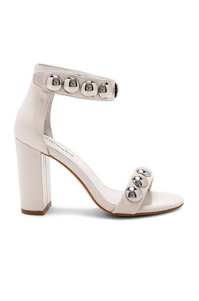 Jeffrey Campbell heel cream shoes