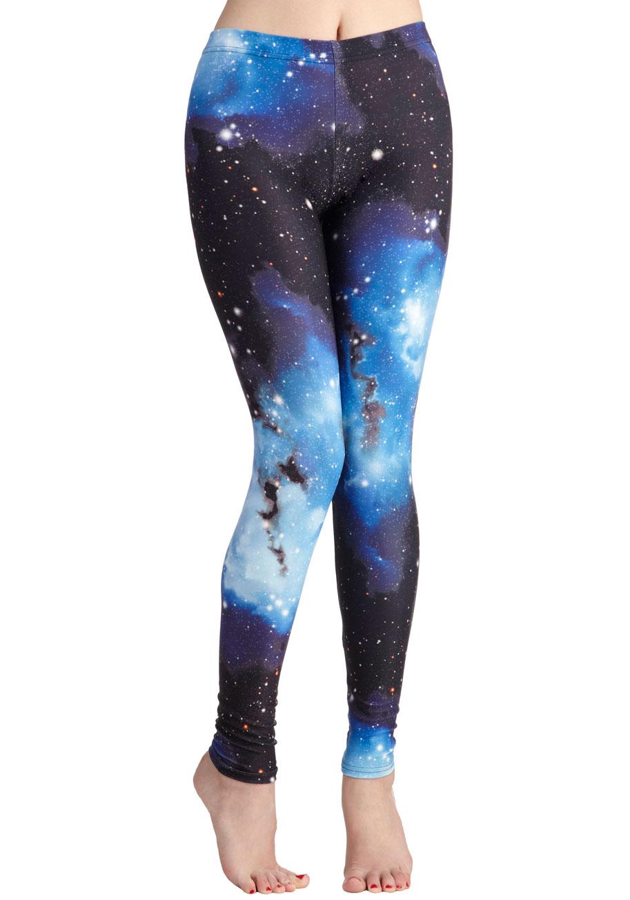 Fresh take leggings in universe from pretty lovely on storenvy