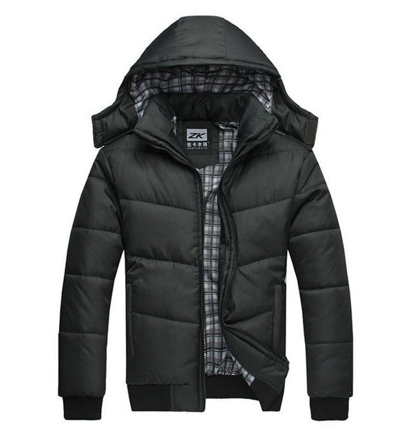 men coat jacket warm parka hooded down coat winter coat down jacket menswear coat