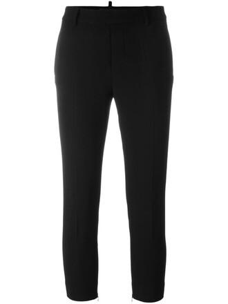 girl cool black pants