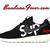 Custom Supreme Nike Roshe Run Shoes Black, #fashion, #supreme, #style #Shoes, by Bandana Fever