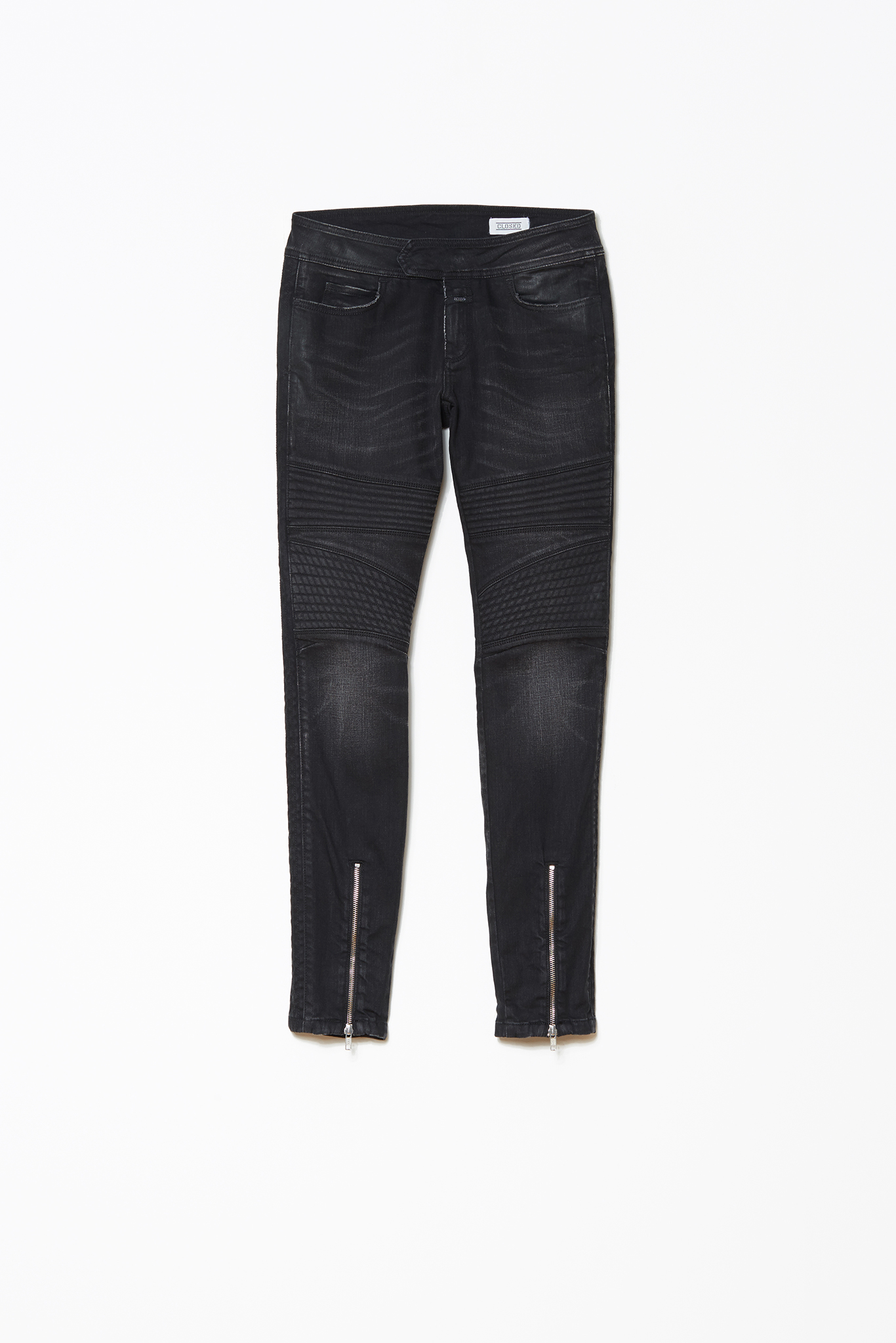 Closed | Ivy Skinny-Leg Waxed Denim-Pants | Shop