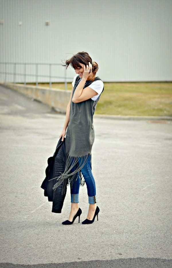 quality rivets jacket tank top dress jeans shoes