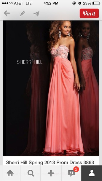 dress sherri hill long
