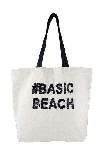 bag basic tote bag canvas bag quote on it fallon and royce designer beach bag