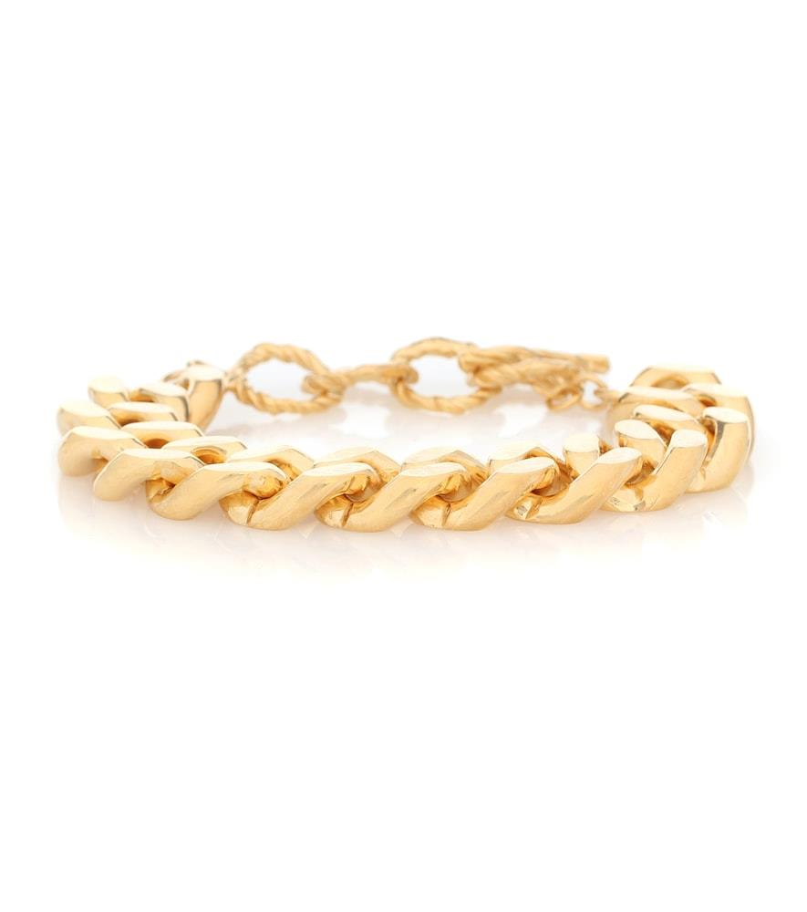 Tipi 24kt gold-plated chain bracelet