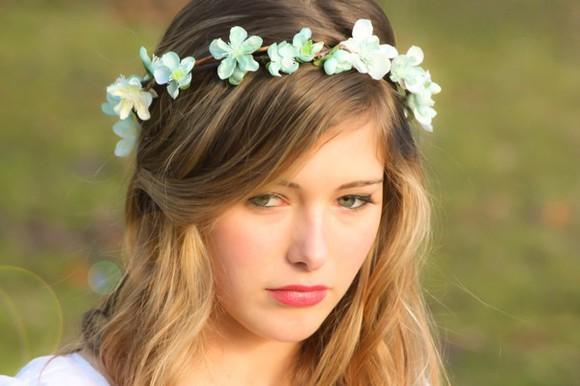 floral hair accessories flowers in hair