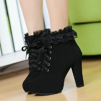 shoes black booties black shoes black heels black high booties black high heels wedges black wedges