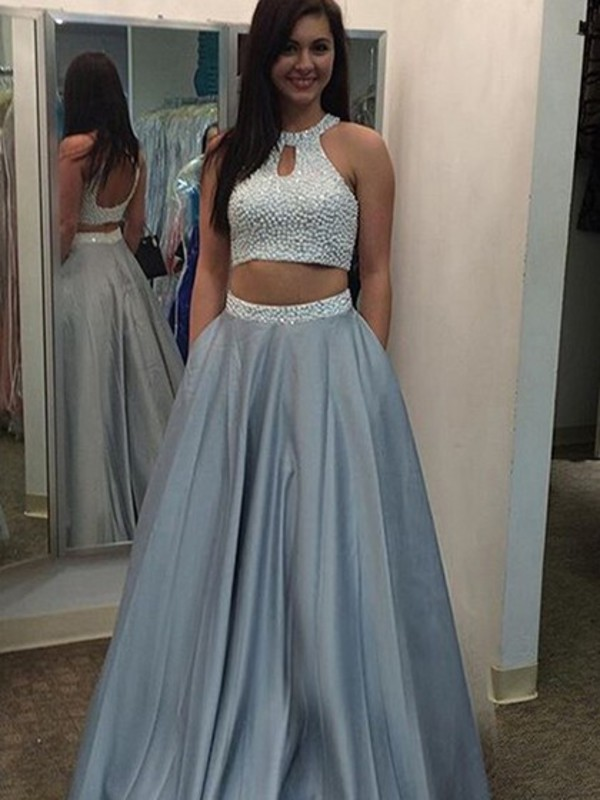 Grey Pageant Dresses