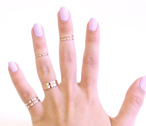 Mixed Midi Ring Set | Galisfly