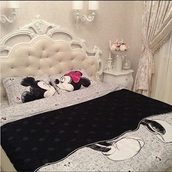 home accessory,minnie and mickey bedding,disney comforter set