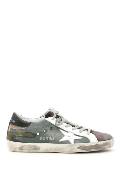 Golden goose sneakers white grey shoes
