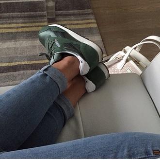 shoes reebok khaki