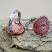 jewels,penny,ring,silver,copper
