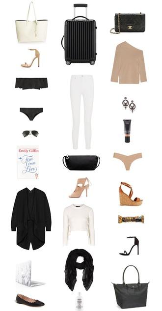 krystal schlegel blogger top bag sweater jewels shoes sunglasses swimwear jeans scarf