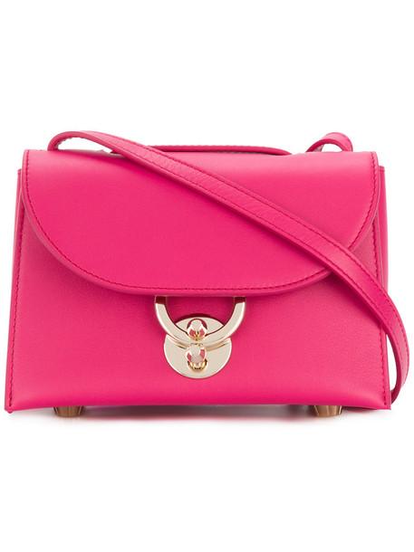 Salvatore Ferragamo women bag shoulder bag leather purple pink