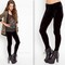 Black crushed velvet leggings · fashion struck · online store powered by storenvy