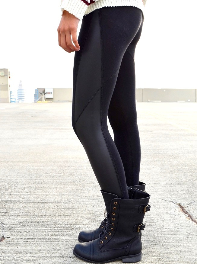 Try our amazing shaping leggings to lengthen the legs and slim the stomach. Free shipping on all orders! Faux Leather Side Stripe Leggings. $ $ Faux Leather Pebbled Leggings will take you from here to there in comfort and style. What more could you ask for? Shop everything from faux leather leggings to workout leggings.