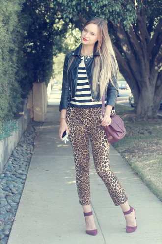 late afternoon pants shoes sweater jacket bag jewels