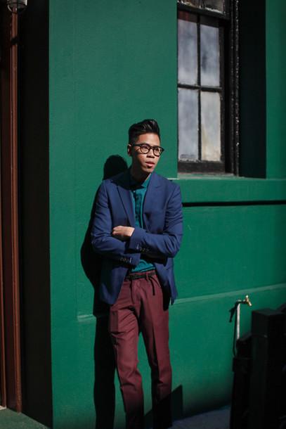 closet freaks blogger jacket menswear hipster menswear