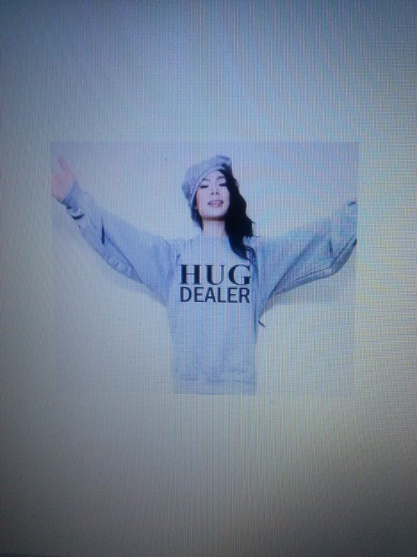 shirt hug dealer sweatshirt