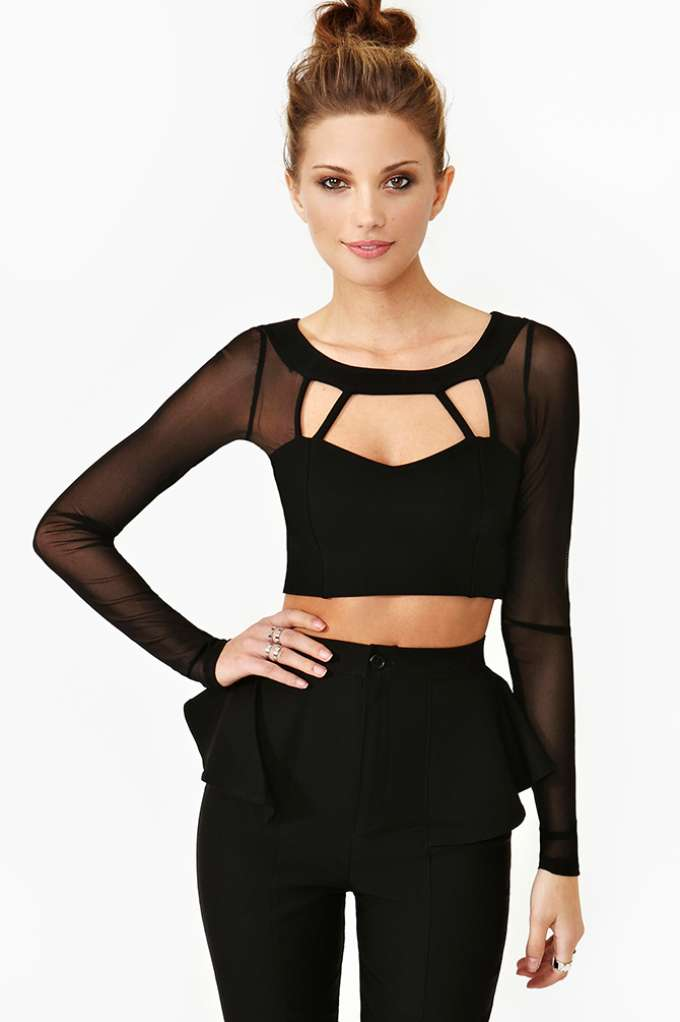 Naomi Crop Top | Shop Clothes at Nasty Gal