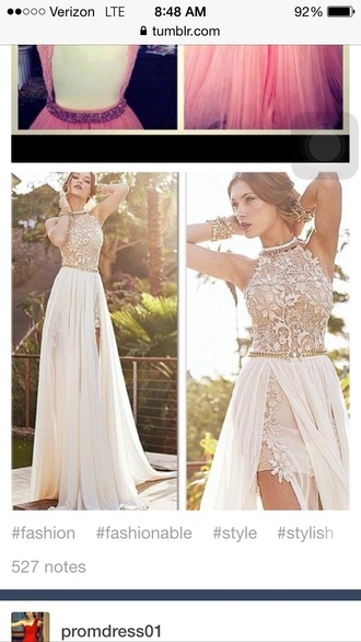 dress white prom dress formal dress lace dress prom