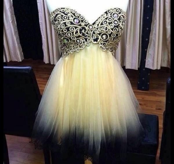 dress prom prom dress prom dress cute shot dress cream champaign