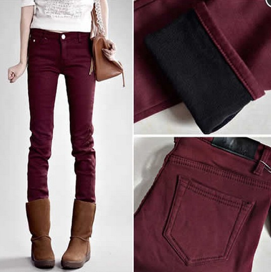 AA Cultivate One's Morality Show Thin Elastic Jeans from yourfashionsandcute on Storenvy
