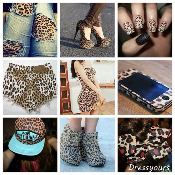 nail polish dress heels hat jeans shorts phone cover bag