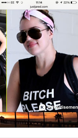 t-shirt top khloe kardashian