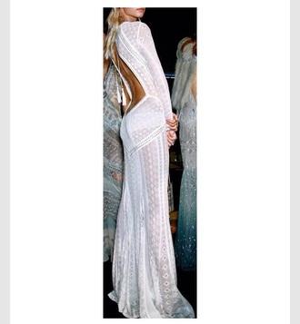 dress backless designer classy