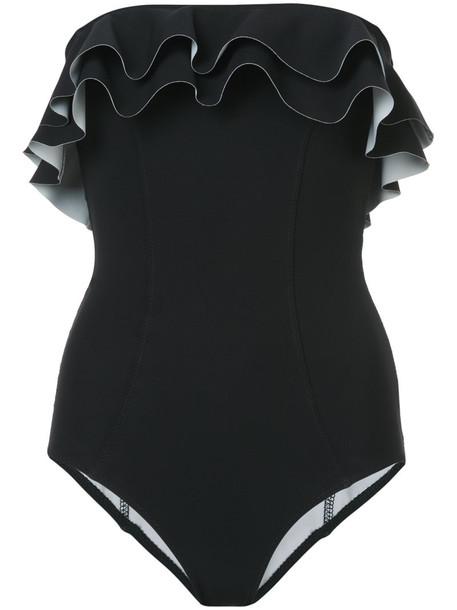 Lisa Marie Fernandez women spandex black swimwear