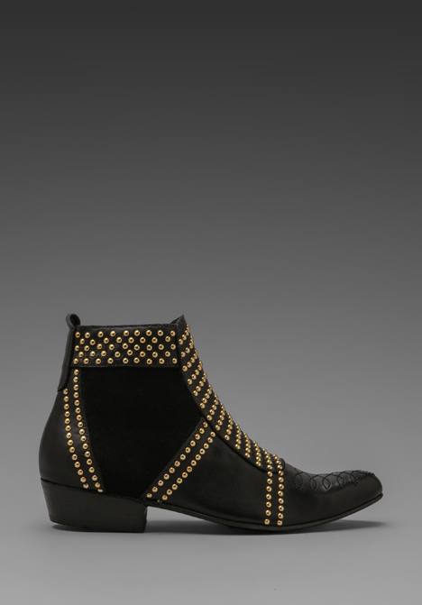 ANINE BING Boots with Studs in Black at Revolve Clothing - Free Shipping!