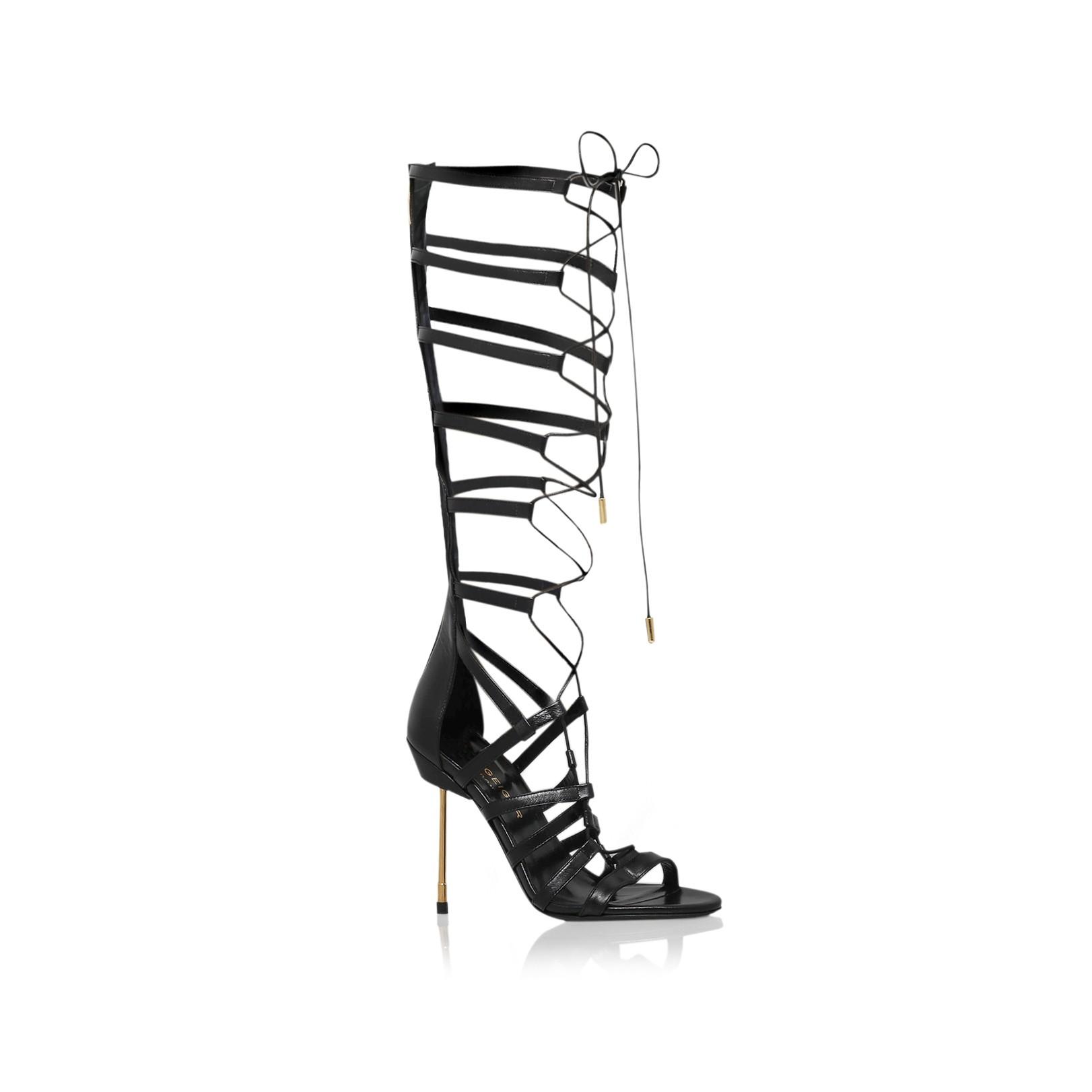 High Sandals Heel By Geiger Belsize Black Kurt London DH29EI