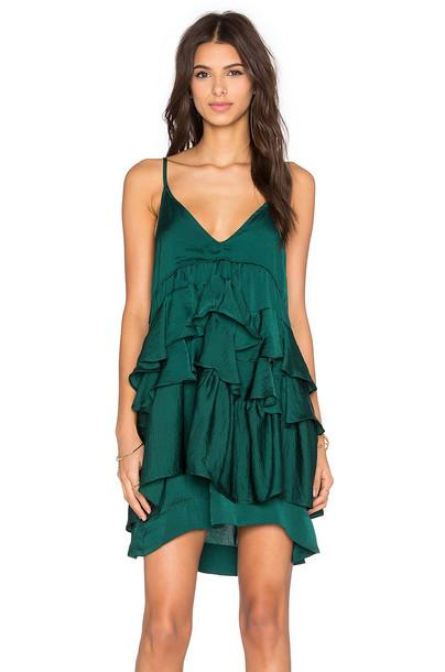 d.Ra dress green