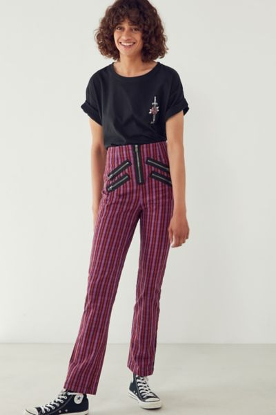 Silence   Noise Malorie High-Rise Zipper Pant