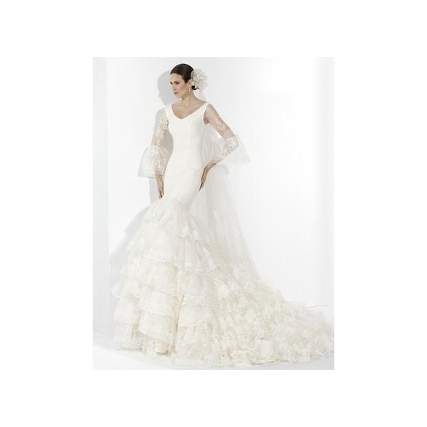 Vestido 25 (Franc Sarabia) - Vestidos de novia 2018   Vestidos de ...