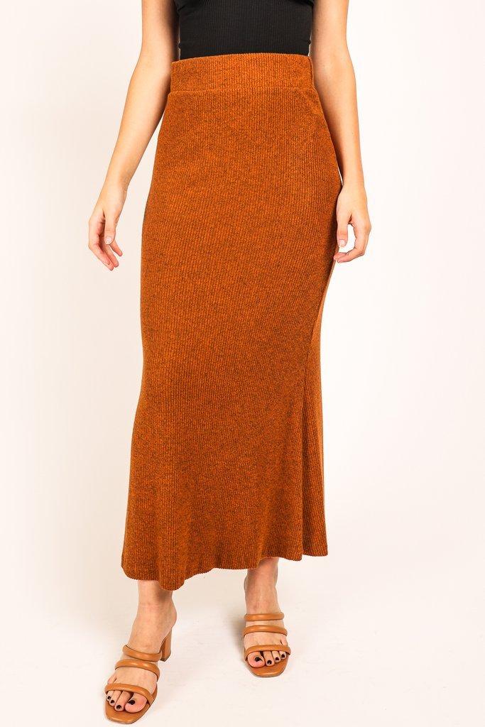 Hazel Knit Midi Skirt