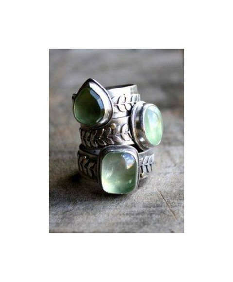 vintage boho boho chic jewels ring celtic hippie mineral minerals crystal quartz crystal
