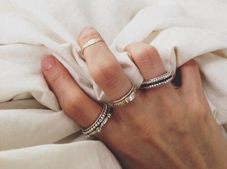 jewels rings hipster sterling silver no rust silver ring
