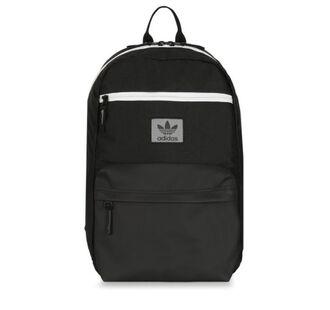 bag backpack black white zip adidas adidas originals