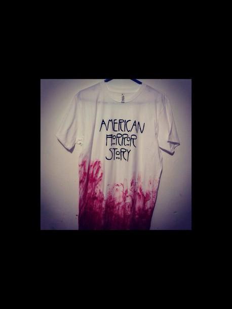shirt t-shirt american horror story
